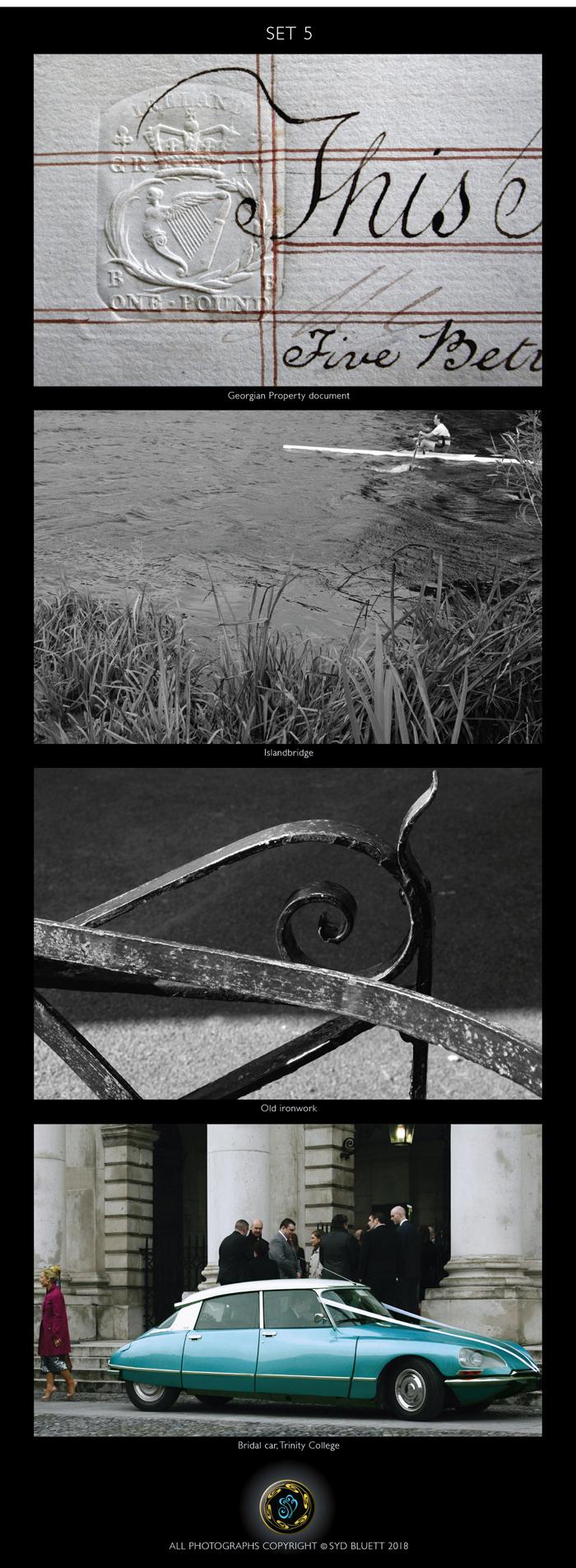 Photographs by Syd Bluett